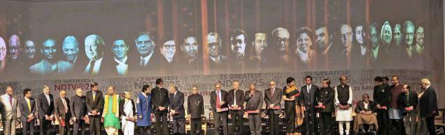 India's 25 greatest global Indian living legends awards at the Rashtrapati Bhavan