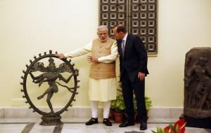 Tony Abbott, Narendra Modi