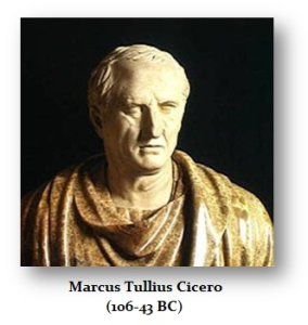 Cicero(106-43 BC)